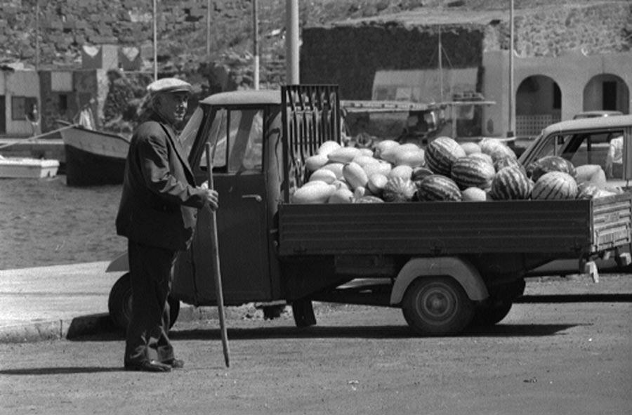 Venditore di meloni de Pantelleria