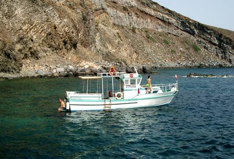 Le partenze si effettuano da Pantelleria porto o...
