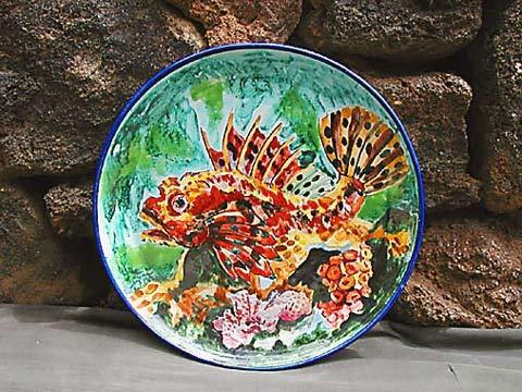 Piatto Pesce - Diam. 32 cm.
