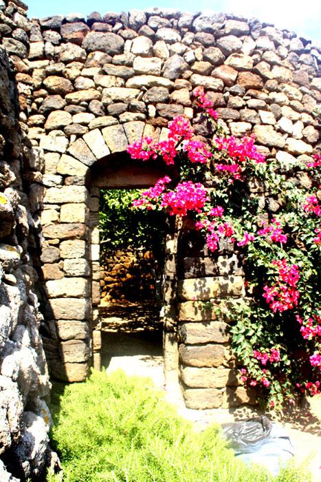 Entrata giardino arabo.