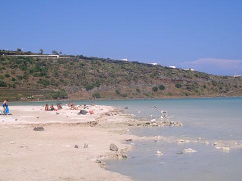 Pantelleria, il lago.