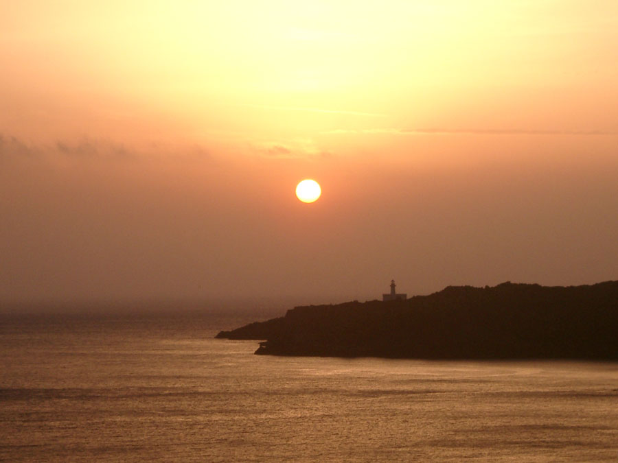 Pantelleria - l'alba a punta spadillo