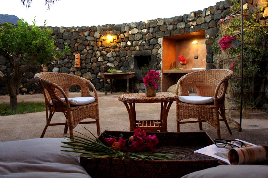 Il giardino arabo.