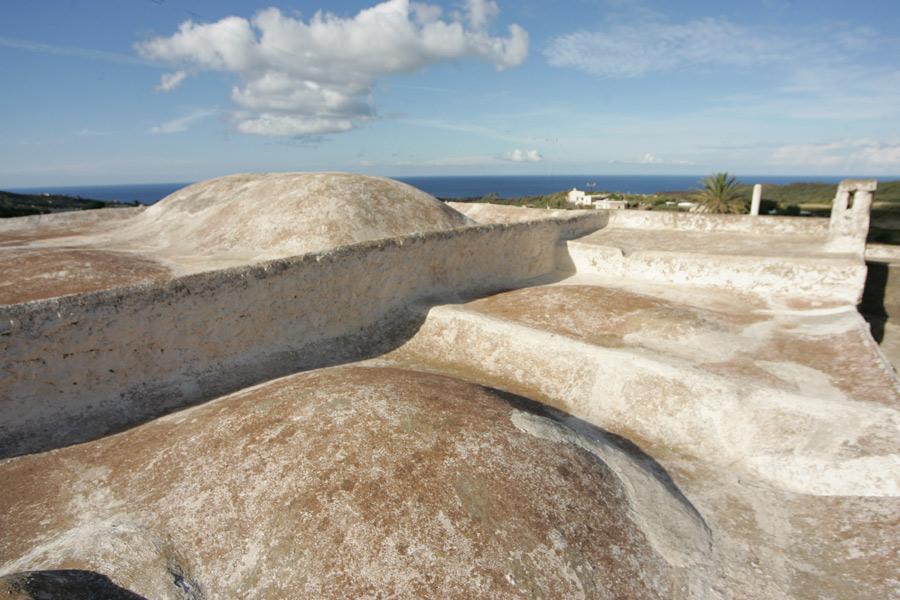 I tetti originali del dammuso.