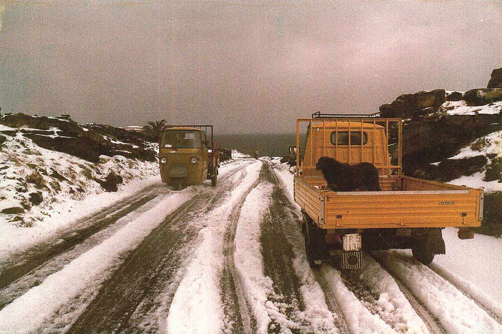 Abbondante Nevicata a Pantelleria