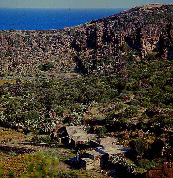 Antichi dammusi di Pantelleria