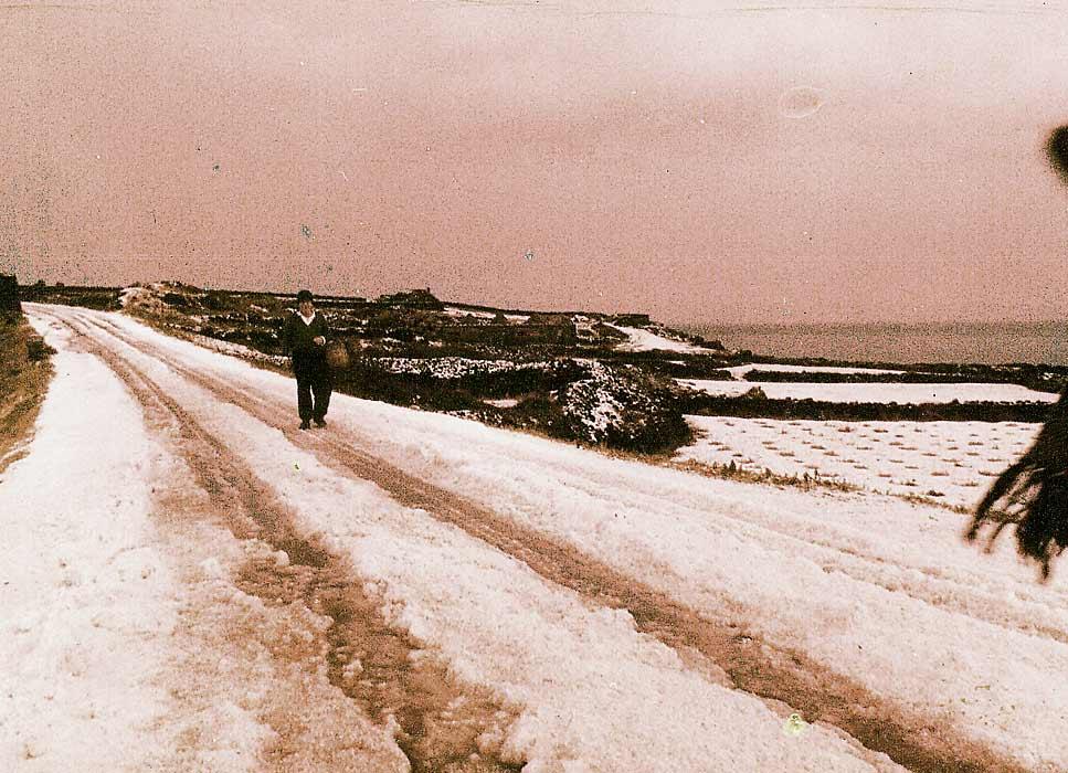 La Neve a Pantelleria !!!