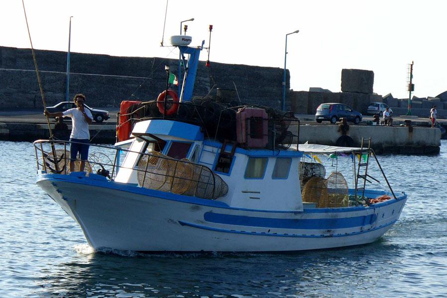 Il peschereccio
