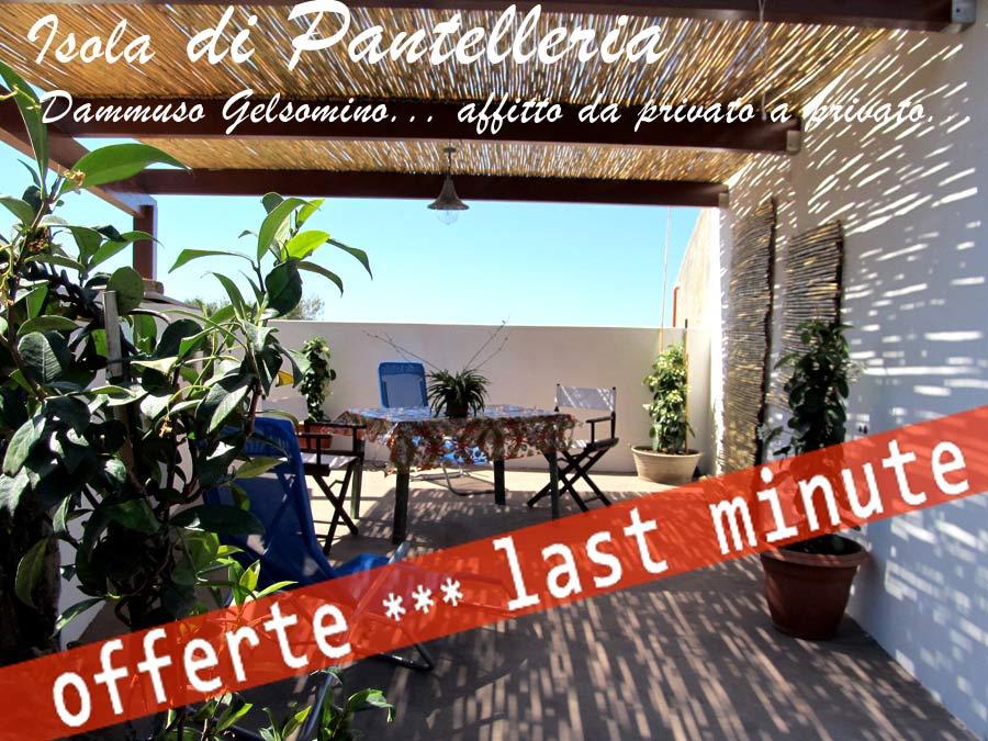 lasteminute vacance pantelleria
